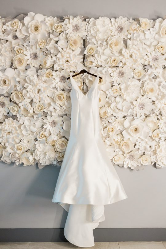 Monique Lhullier Wedding Gown