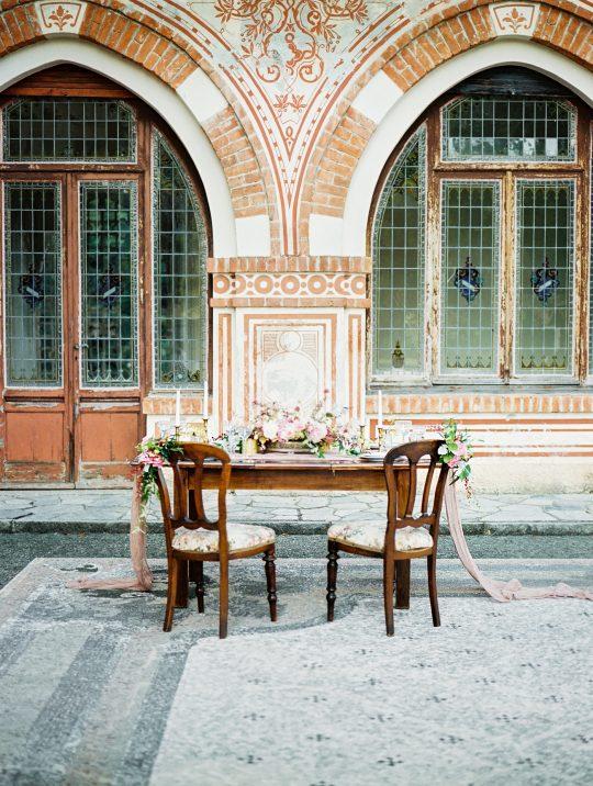 Old World Italian Villa Wedding Inspiration