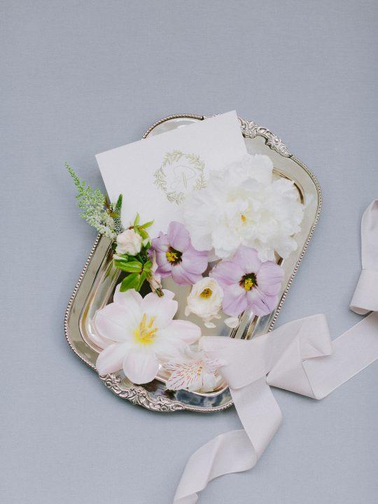 Old World Romantic Wedding Invitation
