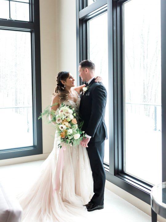 Romantic Alaska Wedding