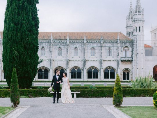 Romantic Portugal Wedding