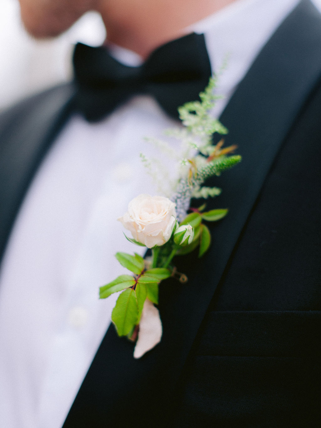 Rose Astilbe Boutonniere