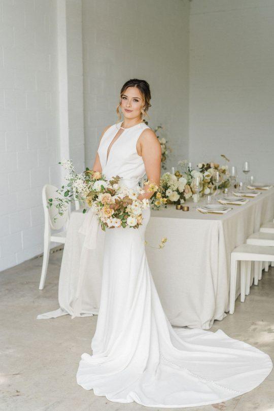 Sleek and Elegant Bridal Inspiration