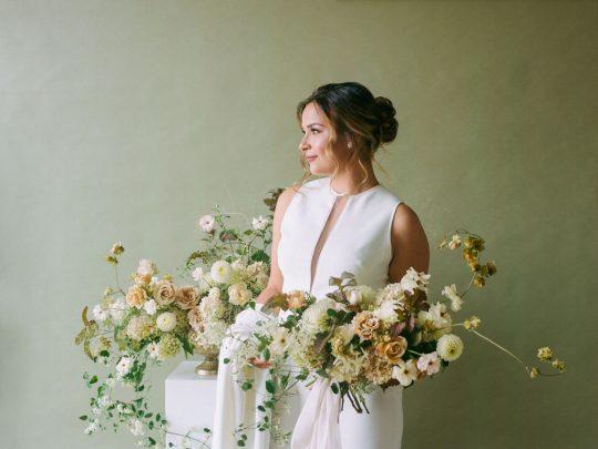 Sleek and Modern Elegant Bride