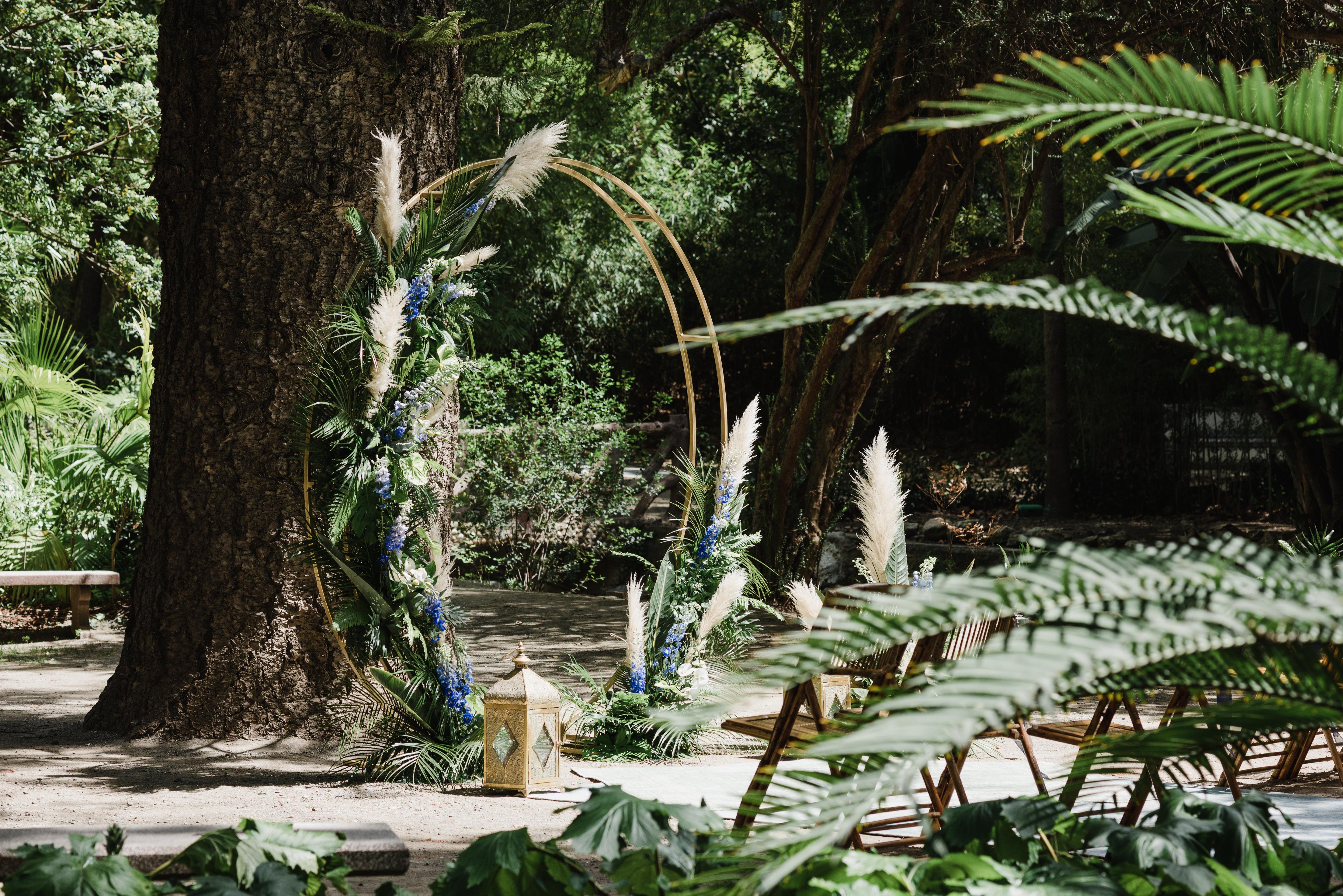 Spanish Tropical Wedding Ceremony