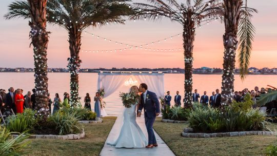 Sunset Wedding Ceremony