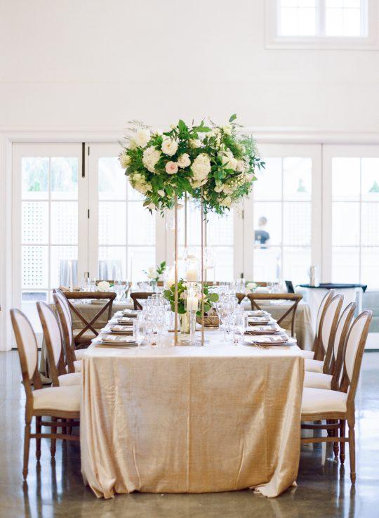 Tall Floral Wedding Centerpiece