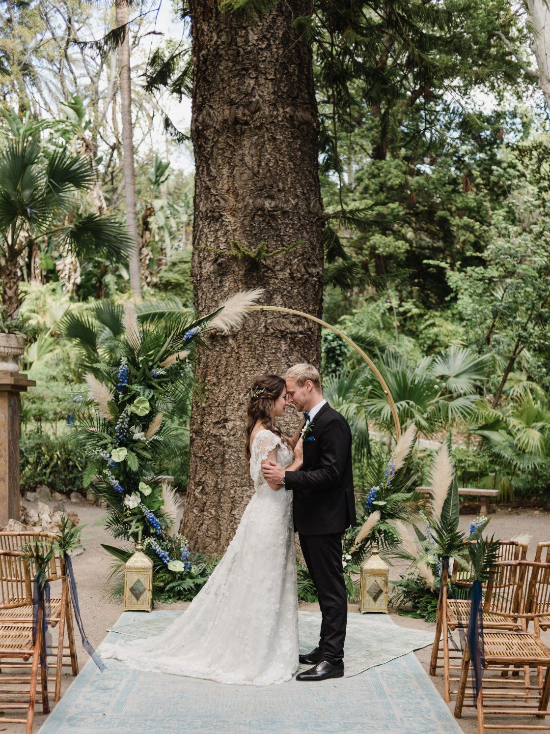 Tropical Botanical Garden Ceremony