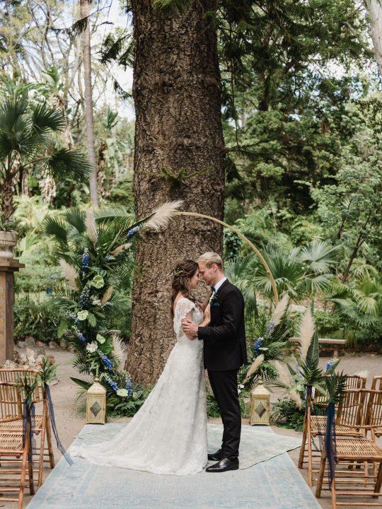 Tropical Botanical Garden Ceremony