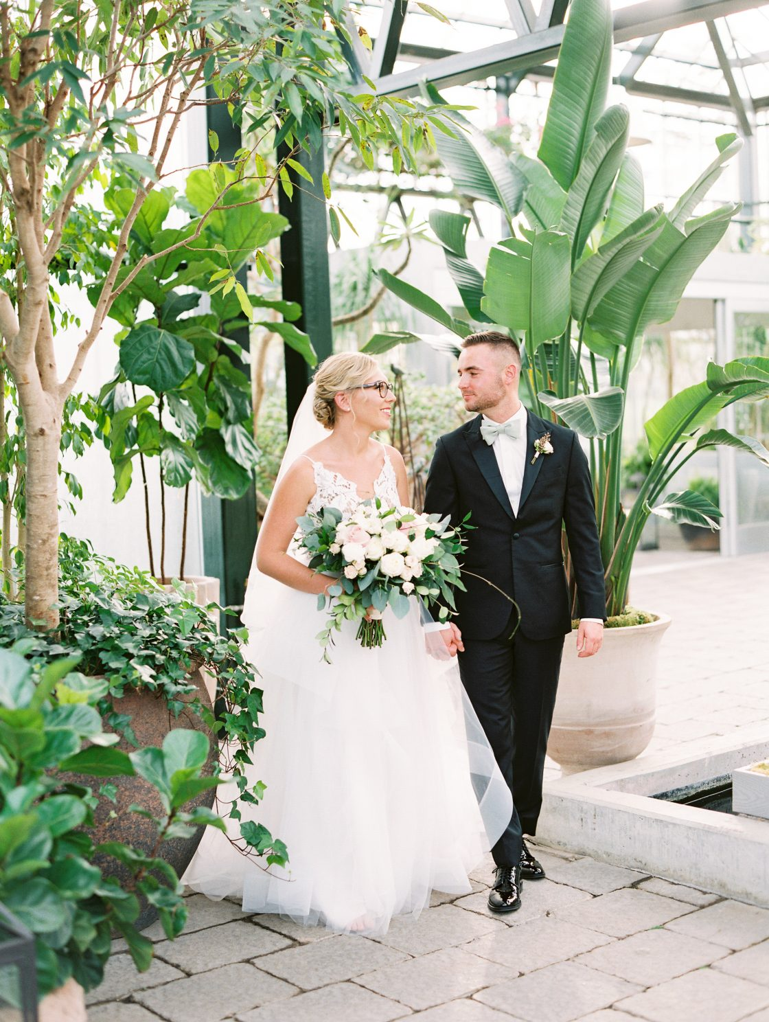 Tropical Conservatory Wedding