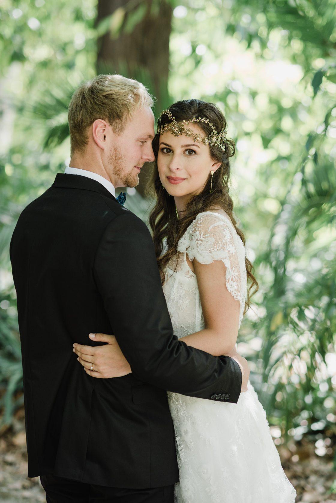 Tropical Organic Wedding