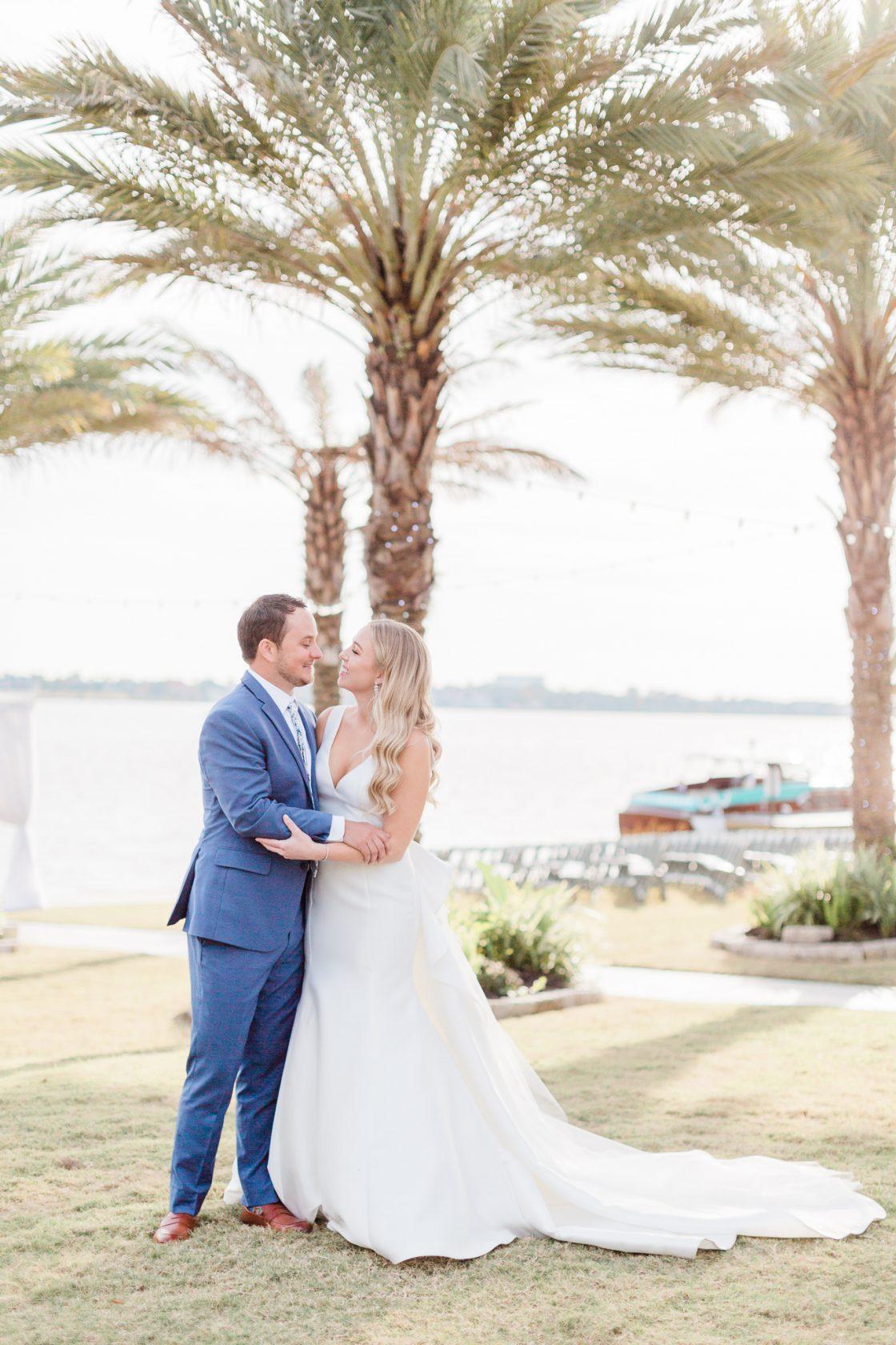 Waterfront Wedding Portrait
