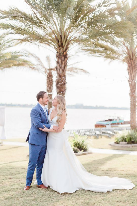 Waterfront Wedding Portrait