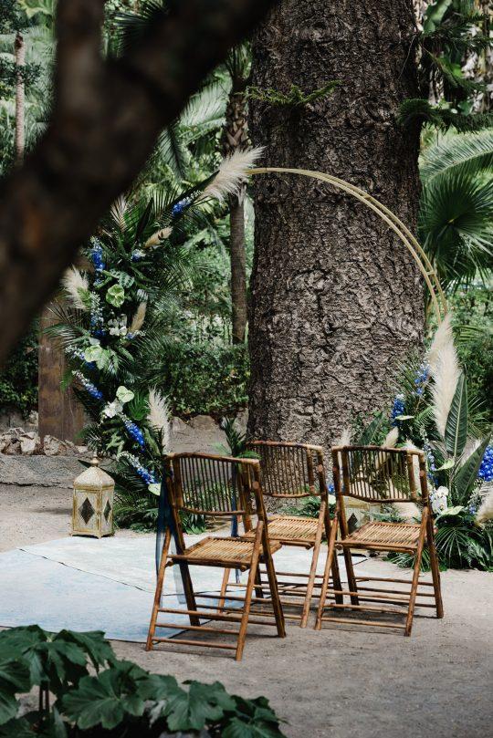 Wedding Ceremony Circle Arch