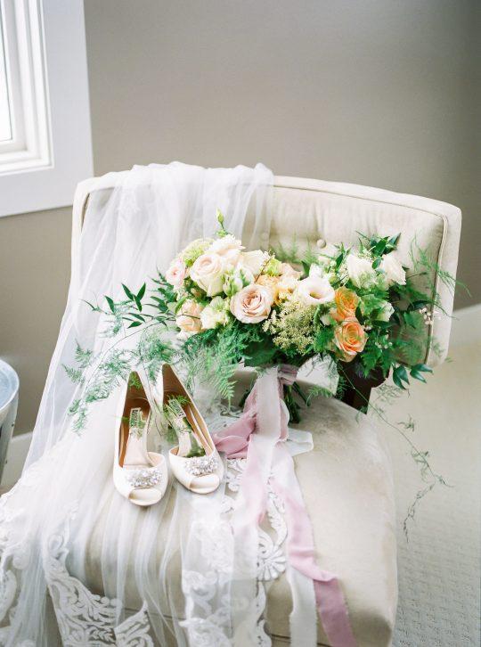 Winter Wedding Bridal Details