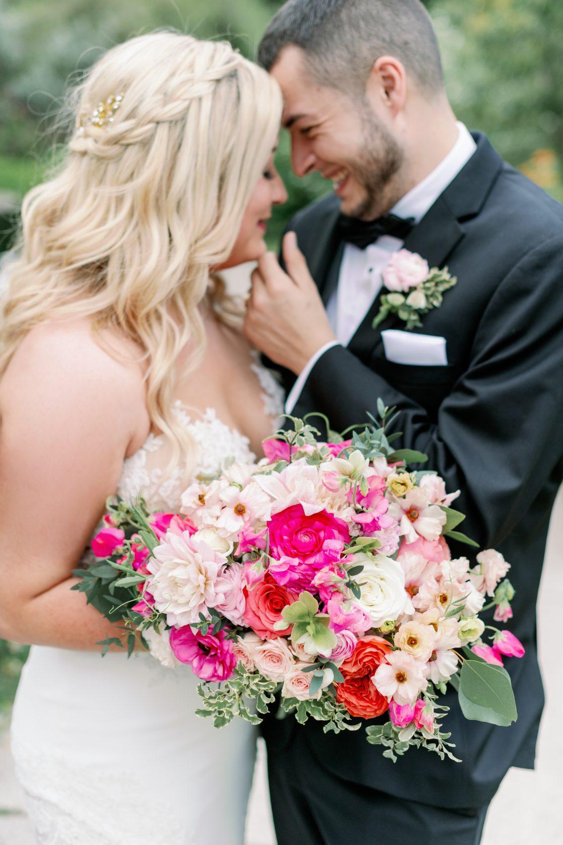 Bright Garden Wedding Bouquet