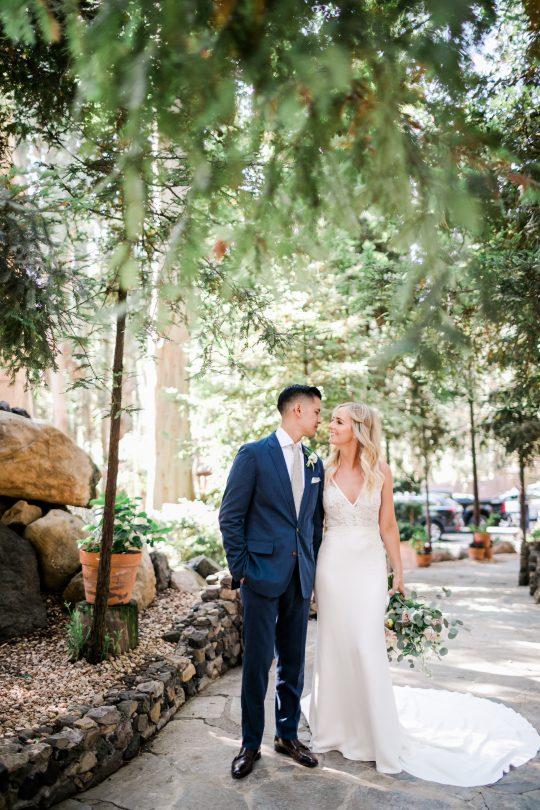 California Wedding Portrait