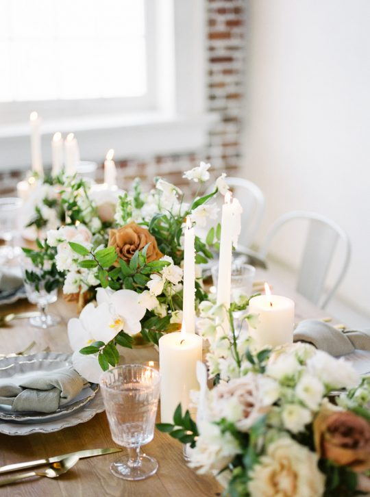 Candlelight Wedding Tablescape