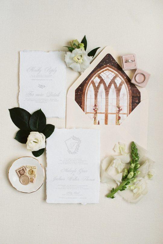 Church Wedding Invitations