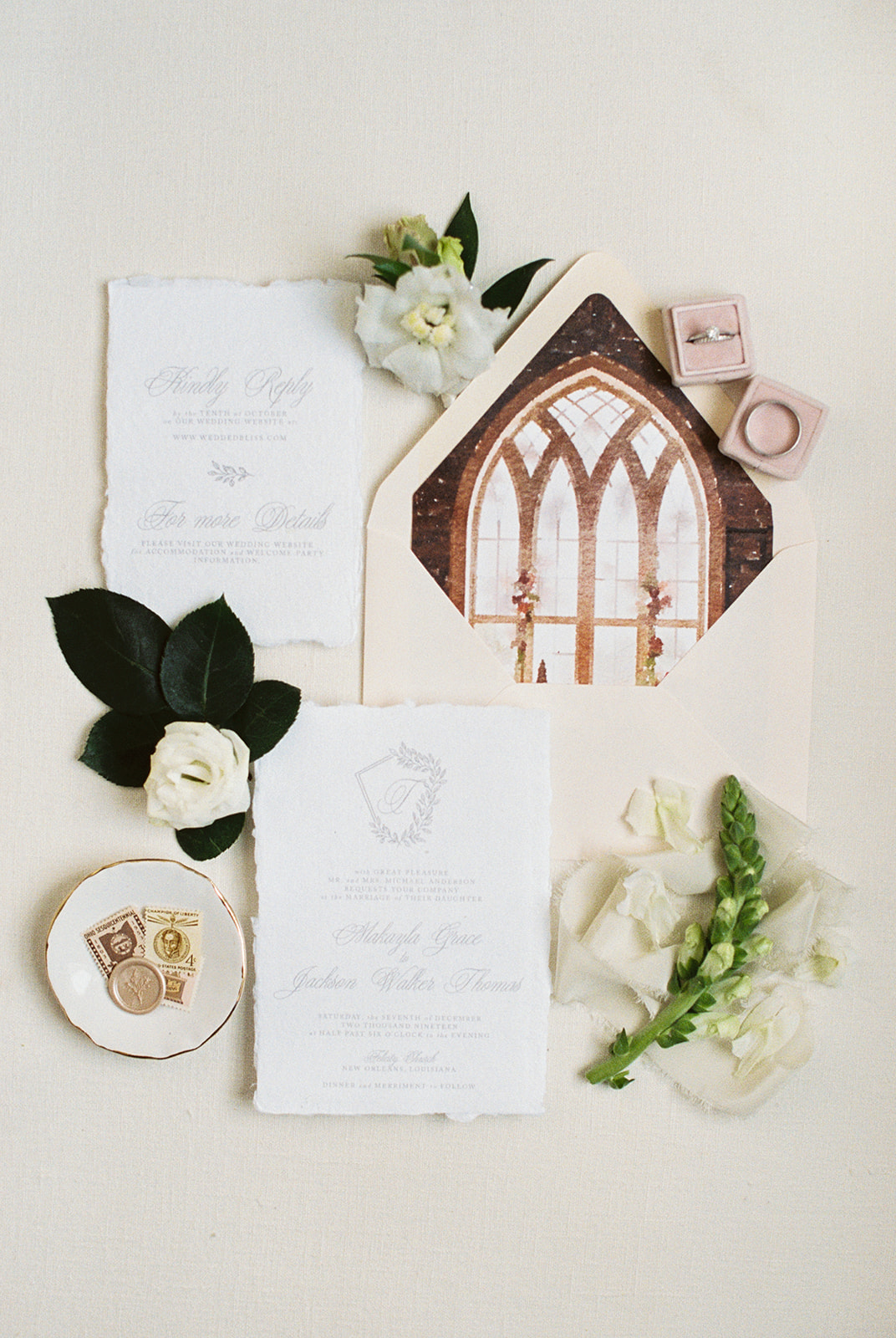 Church Wedding Invitations