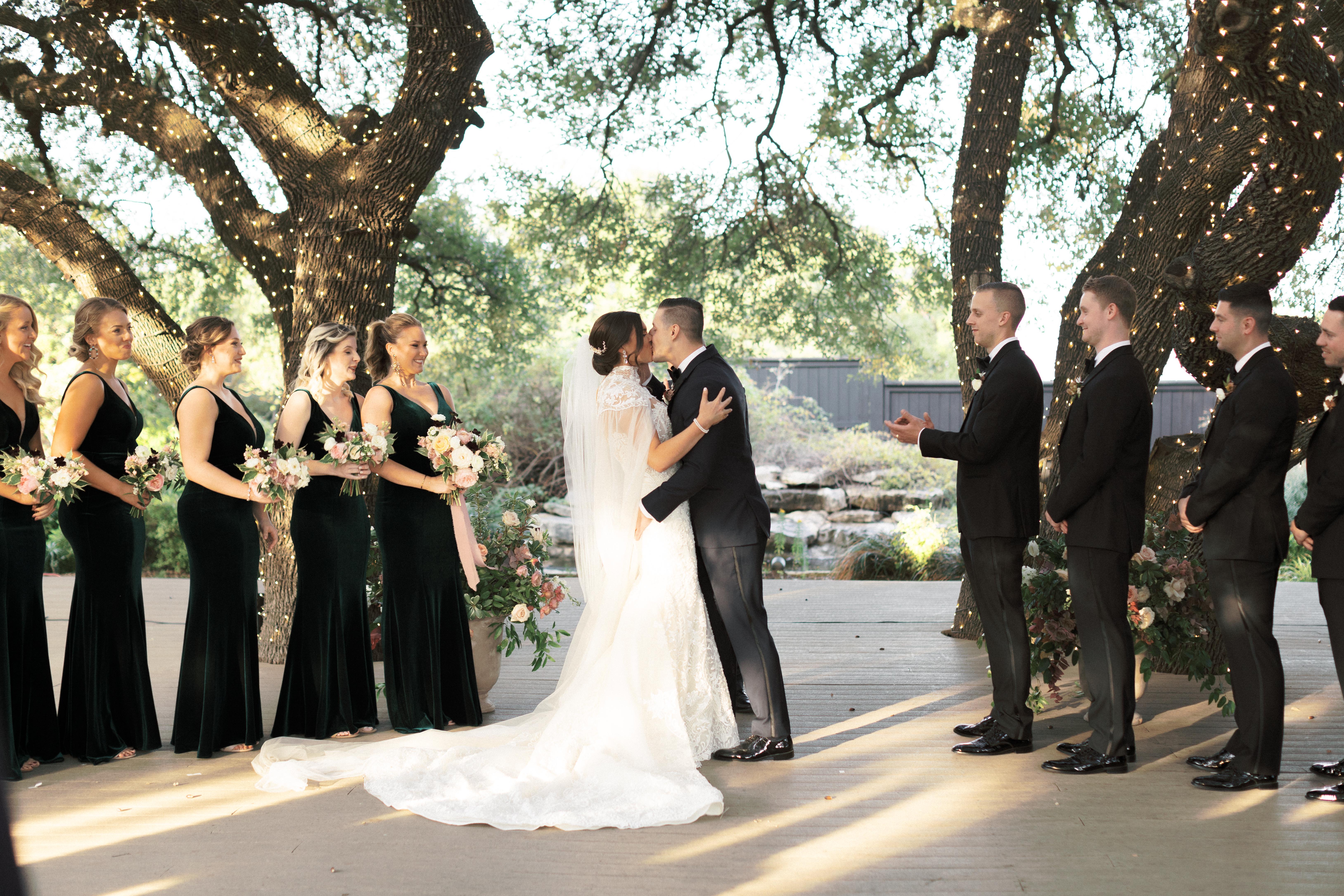 Elegant Outdoor Texas Wedding