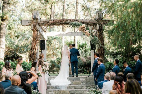 Elegant Ranch Wedding Ceremony