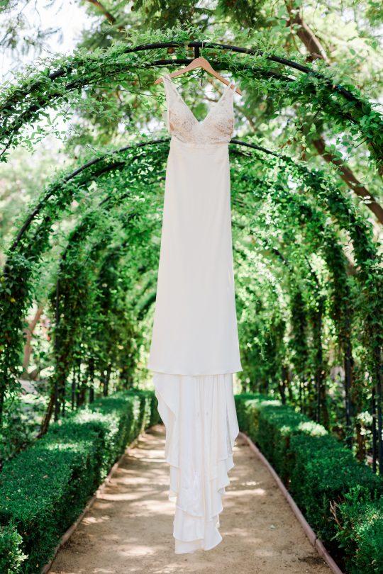Elegant Ranch Wedding Gown