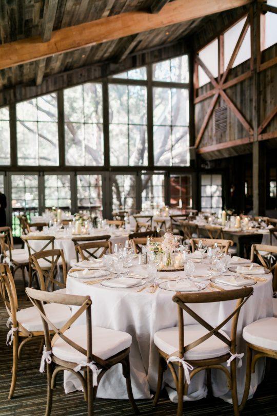 Elegant Ranch Wedding Reception
