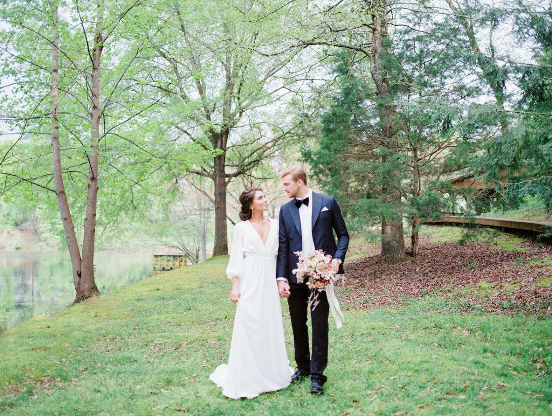 Garden Bridal Portrait Session