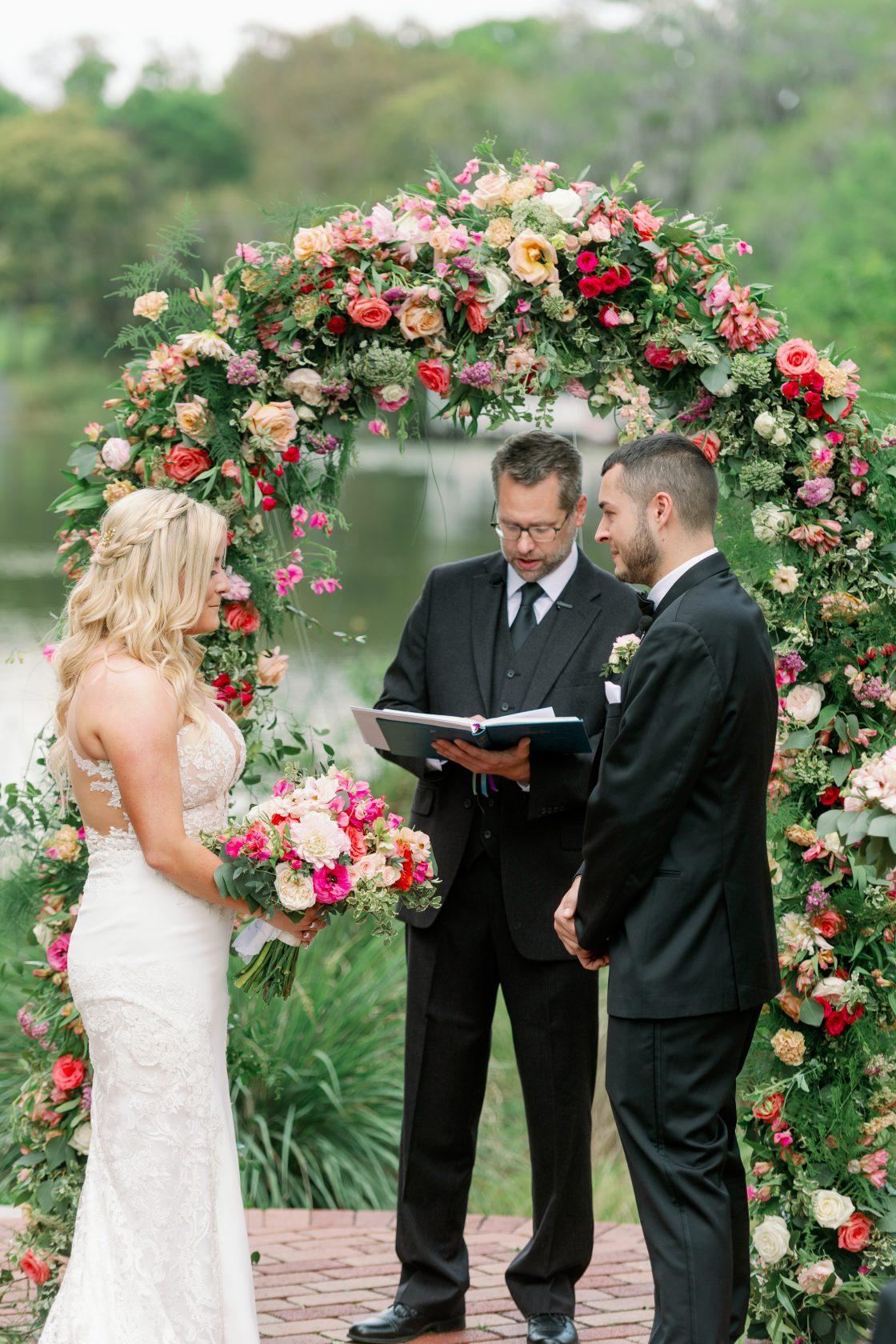 Garden Inspired Wedding Ceremony Arch