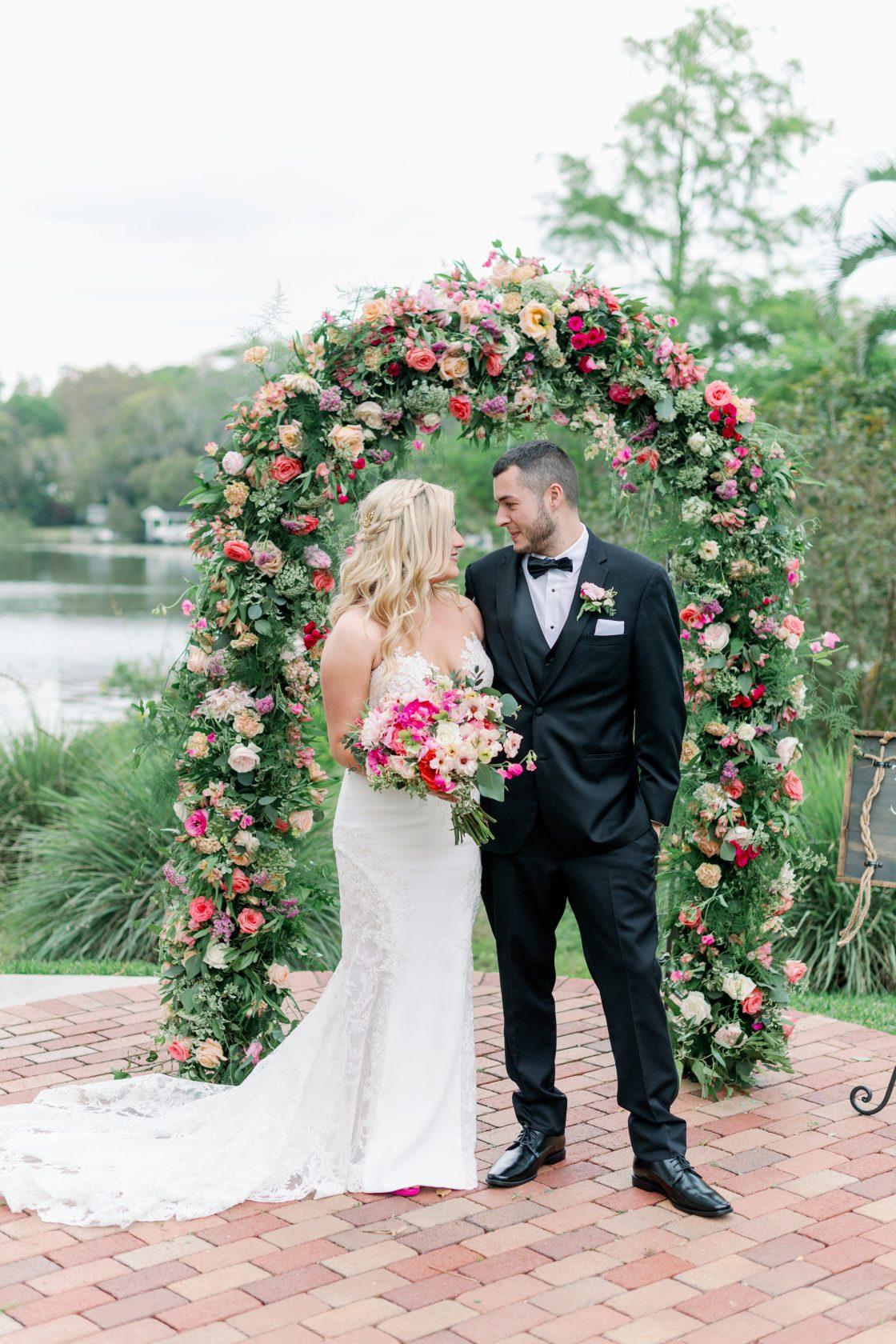 Garden Rose Wedding Arch