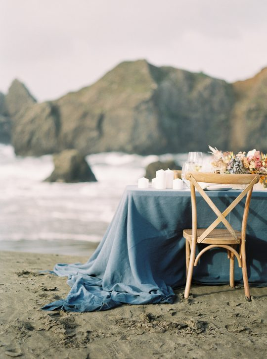 Indigo Table Linens
