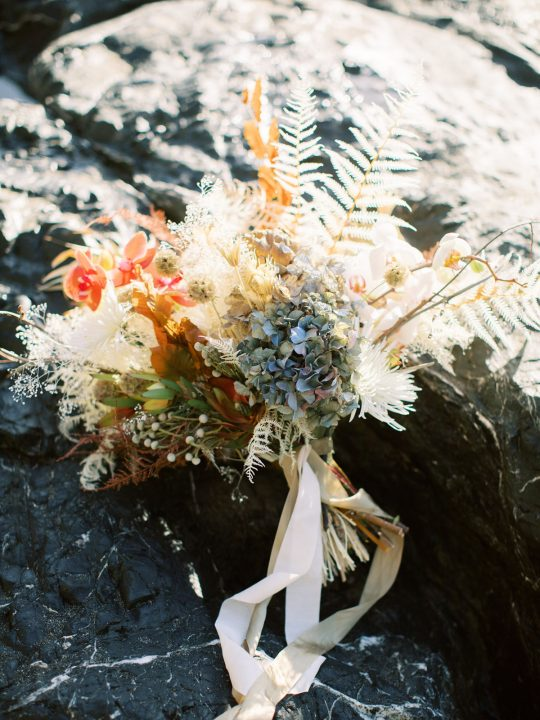 Ocean Inspired Wedding Bouquet