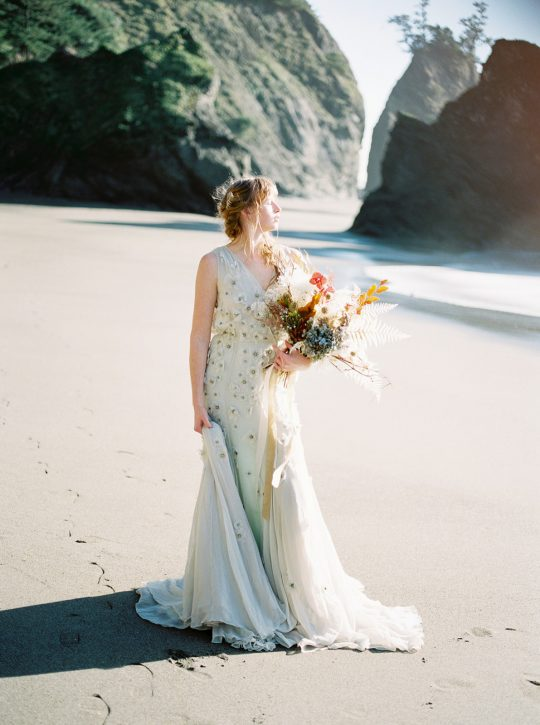 Pacific Ocean Sea Inspired Wedding by Sean Smith Photography 2