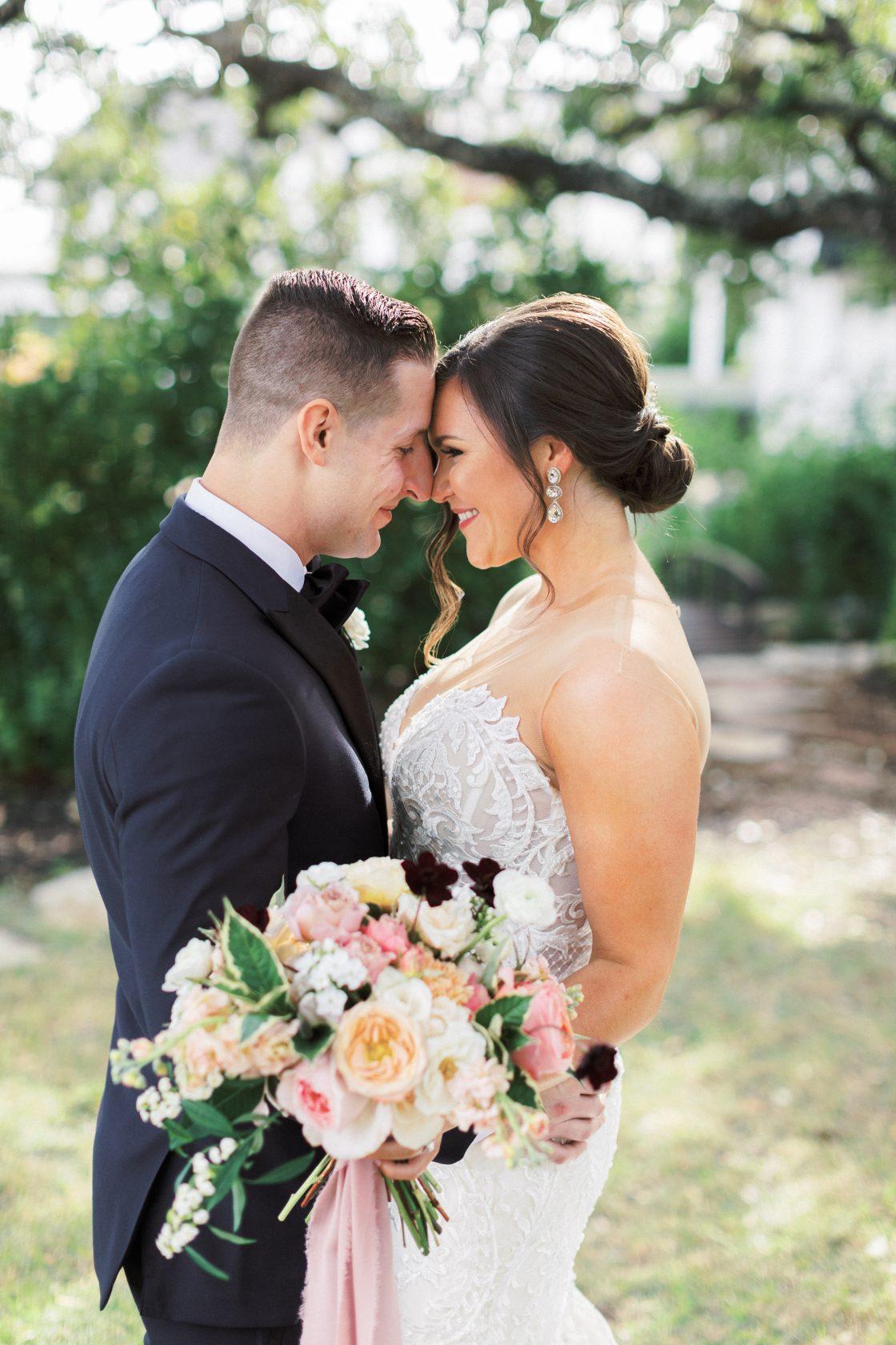 Romantic Texas Wedding Portrait
