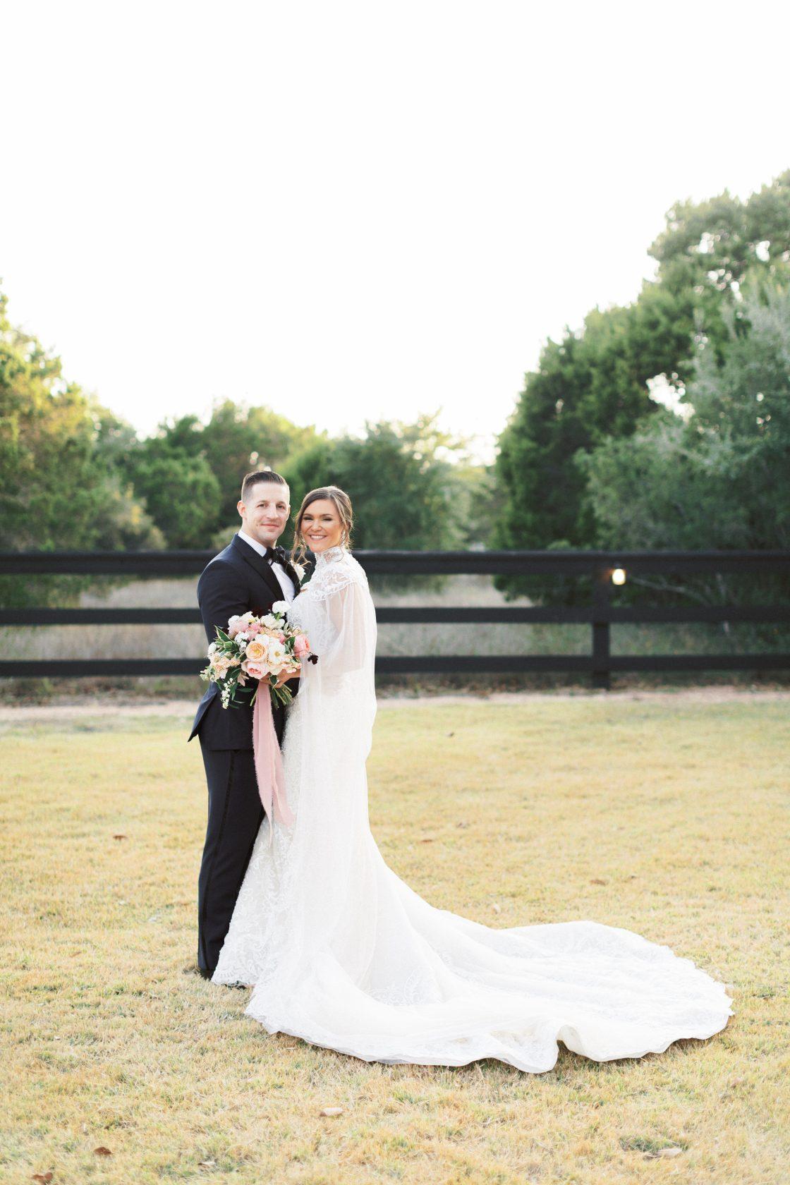 Romantic Texas Wedding Portrait 3