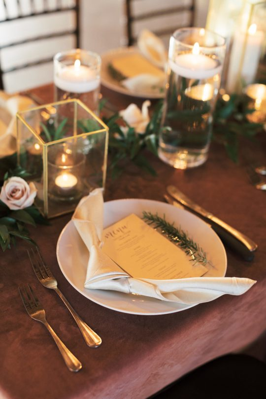 Rosemary Place Setting Decor