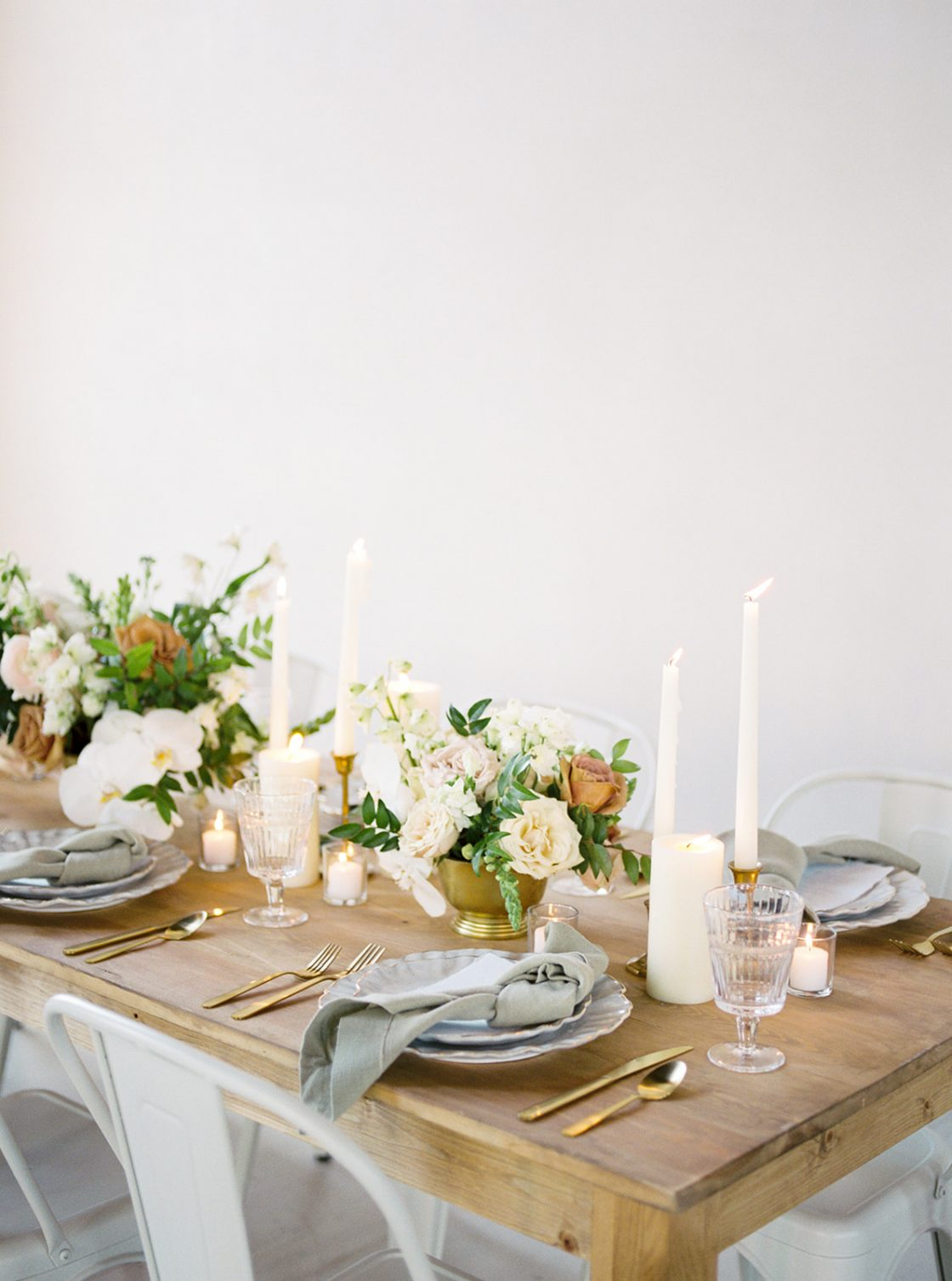 Wooden Wedding Table