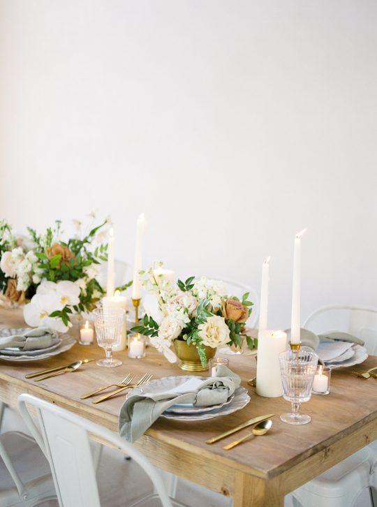 Wooden Wedding Table
