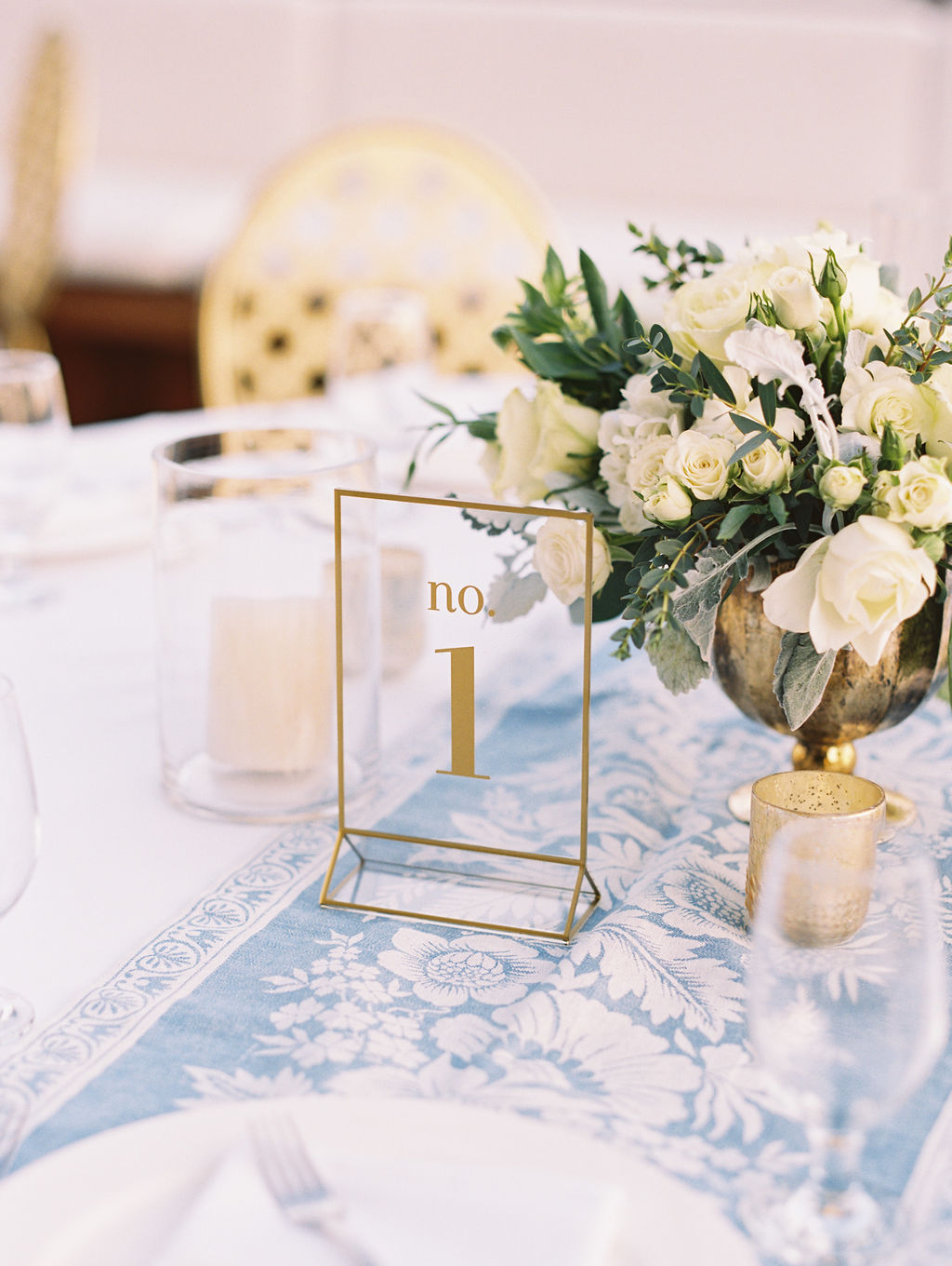 Acryllic Clear Table Numbers
