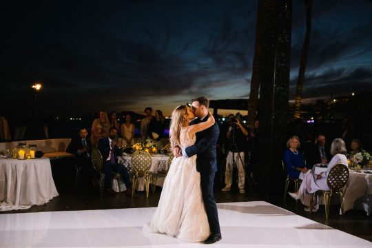Bride and Groom Dance Wedding Reception