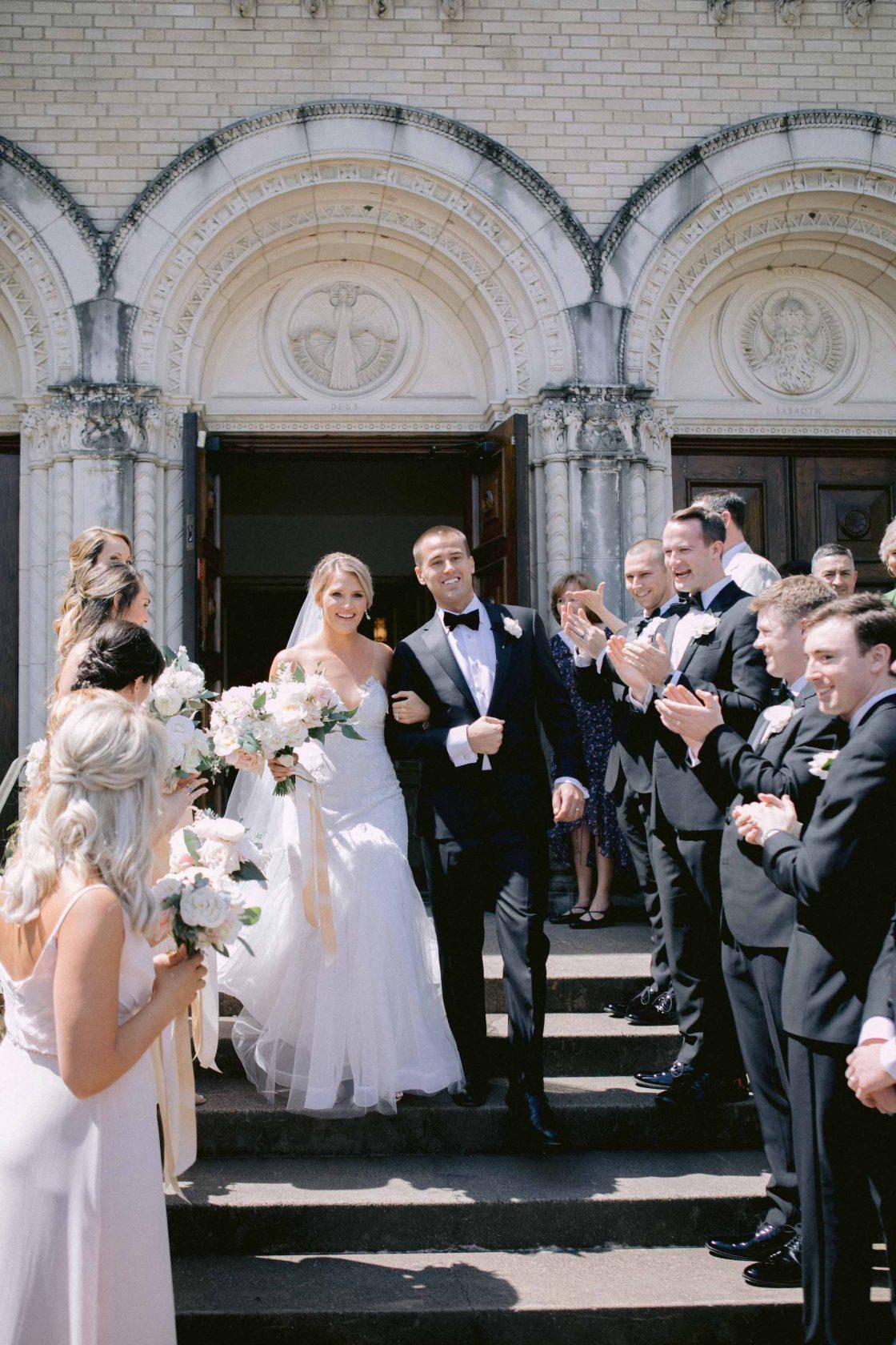 Catholic Wedding Sendoff