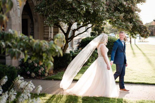 Classic Elegant Wedding Portrait