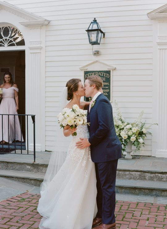 Coastal New England Wedding Ceremony
