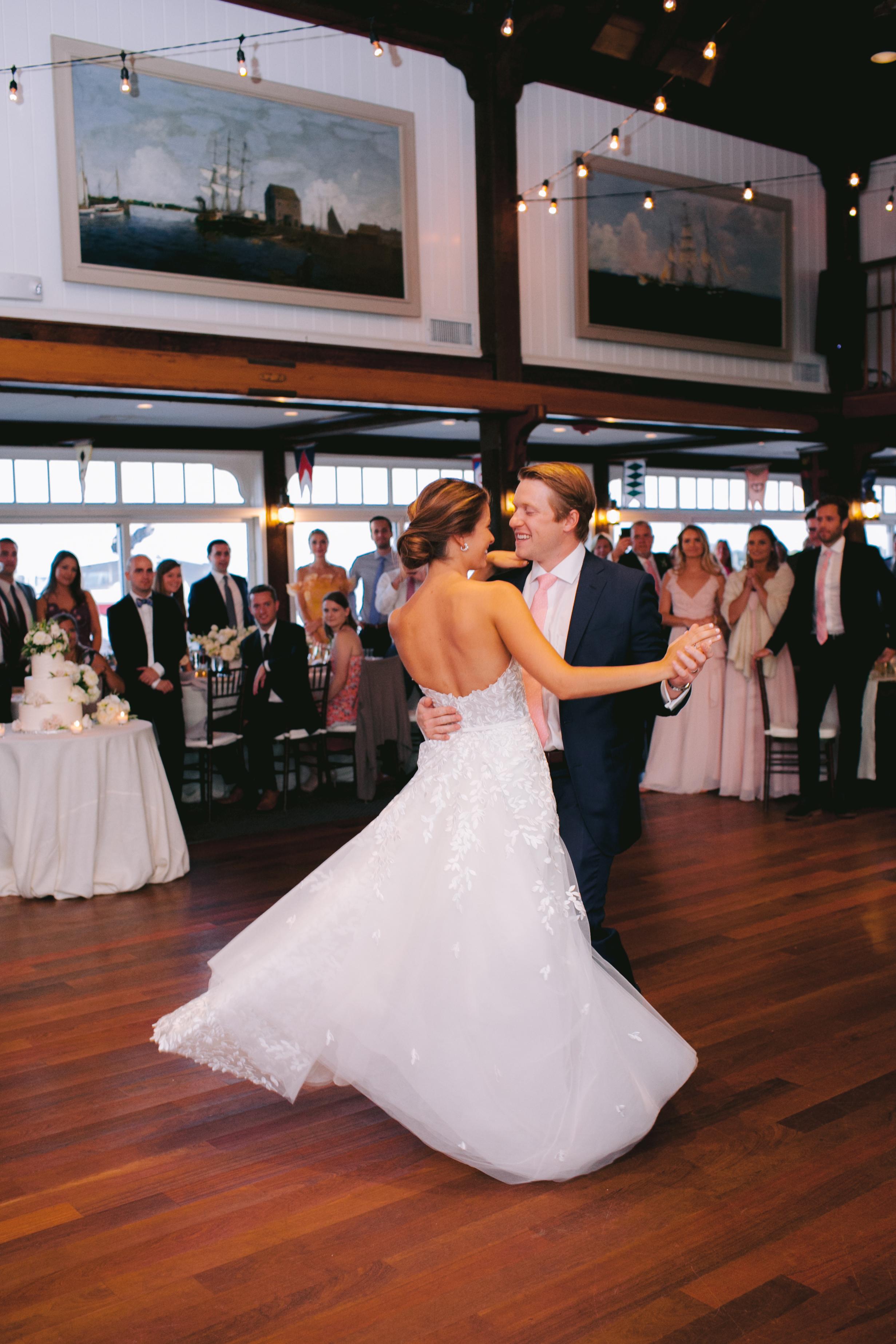 Coastal New England Wedding Reception