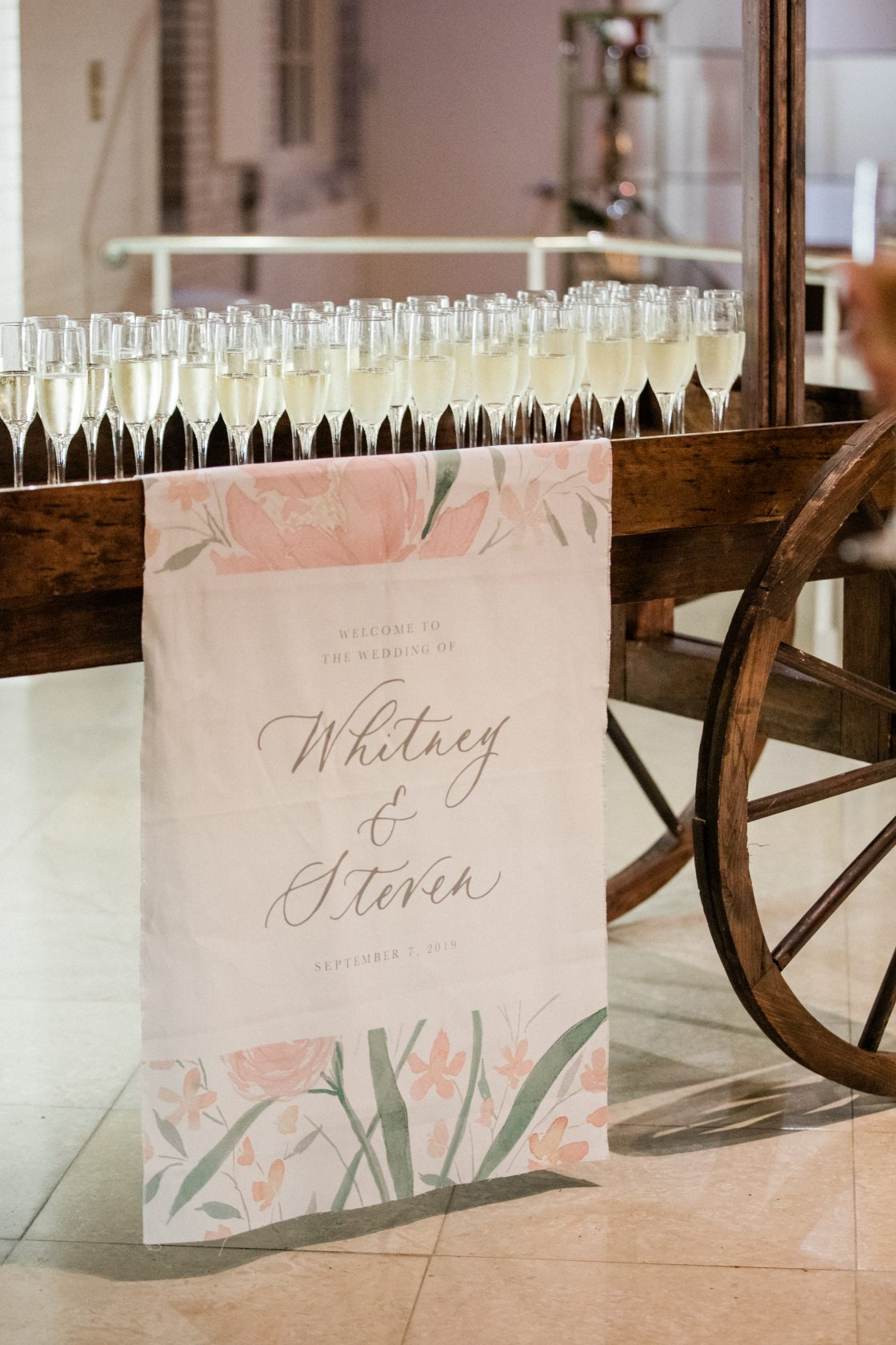 Custom Wedding Drink Sign