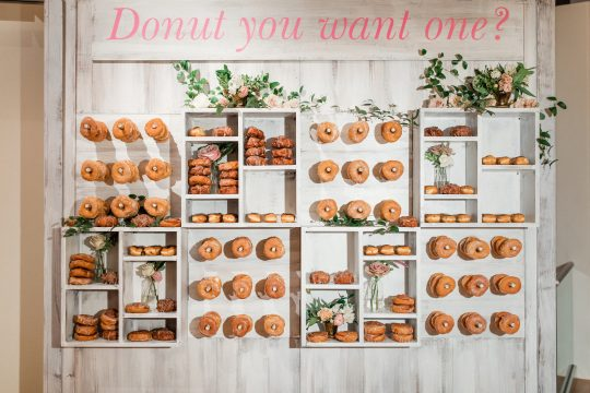 Donut Wedding Bar