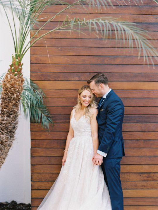 Elegant Destination Wedding Portrait