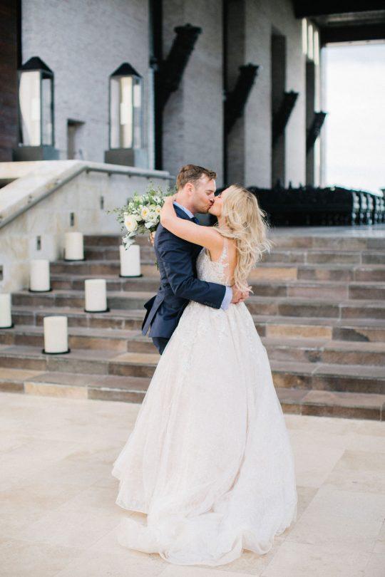 Elegant Oceanfront Wedding
