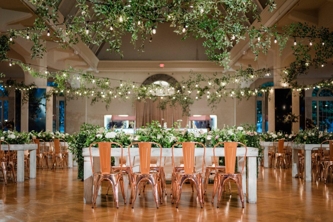 English Garden Inspired Wedding Reception